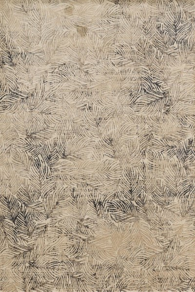 Charcoal, Beige Transitional Area Rug