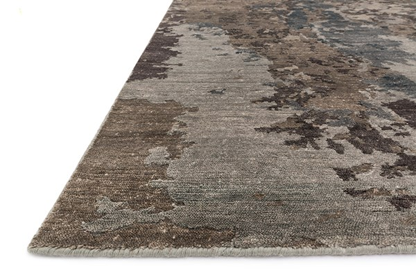 Teal, Graphite Transitional Area Rug
