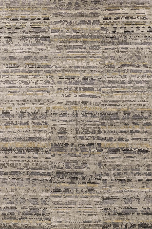 Silver, Pewter Transitional Area Rug