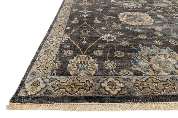 Frost, Gray Traditional / Oriental Area Rug