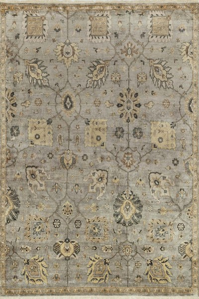Silver Cloud Traditional / Oriental Area Rug