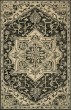 Product Image of Traditional / Oriental Charcoal, Light Grey Area Rug