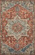 Product Image of Traditional / Oriental Red, Blue, Ivory Area Rug
