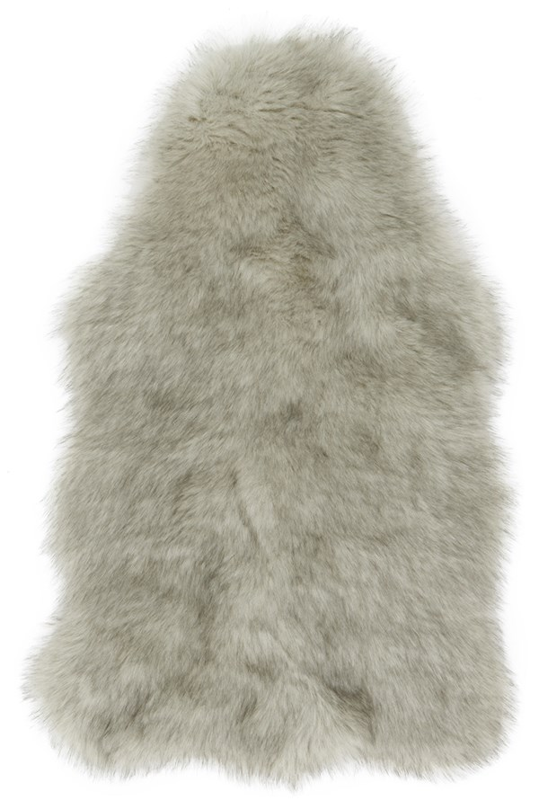 Silver, Grey Animals / Animal Skins Area Rug