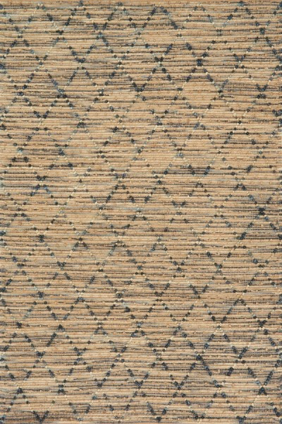 Navy Natural Fiber Area Rug