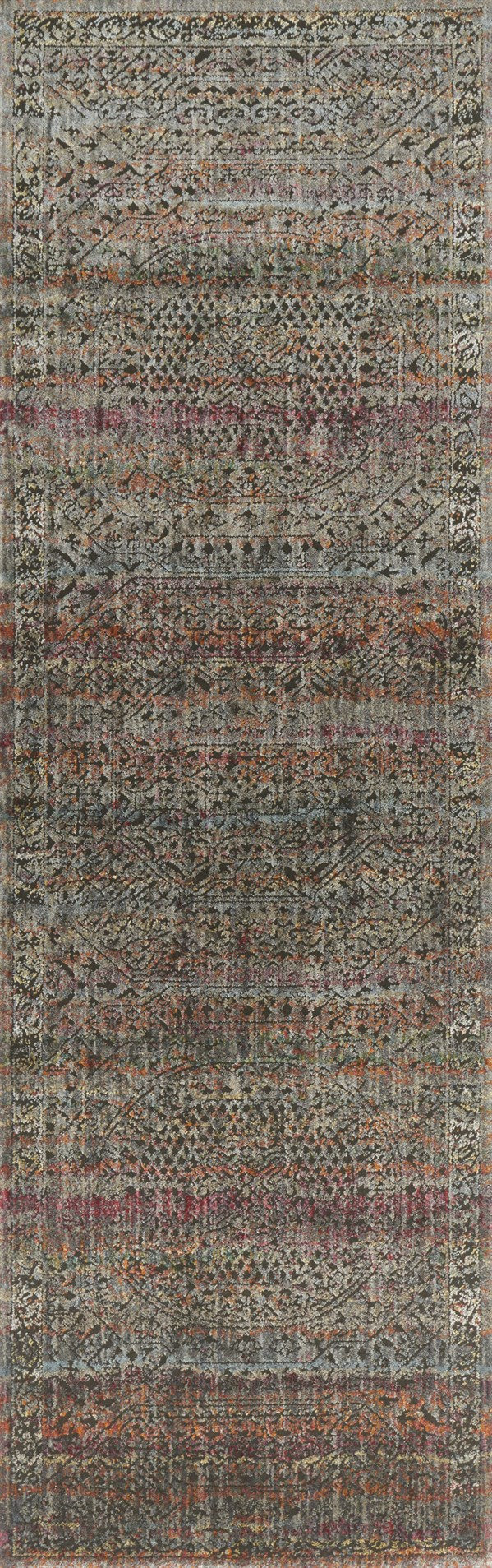 Charcoal, Sunset Vintage / Overdyed Area Rug