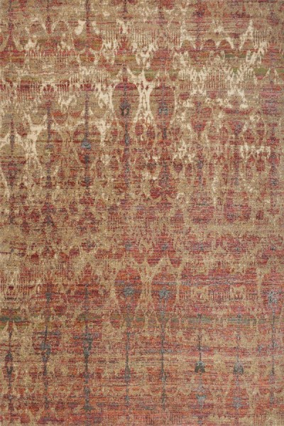 Drizzle, Berry Southwestern / Lodge Area Rug