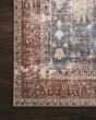 Product Image of Blue, Brick Vintage / Overdyed Area Rug