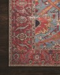 Product Image of Blue, Red Rustic / Farmhouse Area Rug