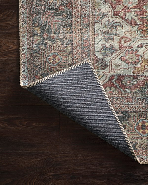 Brick Vintage / Overdyed Area Rug