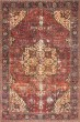 Product Image of Red, Navy Vintage / Overdyed Area Rug