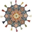 Product Image of Bohemian Navy, Rust (RU-08) Area Rug