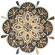 Product Image of Bohemian Ink, Rust (RU-12) Area Rug
