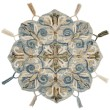 Product Image of Bohemian Denim, Ivory, Tan (RU-20) Area Rug