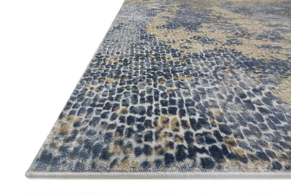 Ocean, Gold Transitional Area Rug
