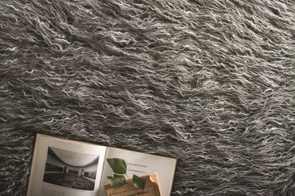 Grey, Ivory Animals / Animal Skins Area Rug