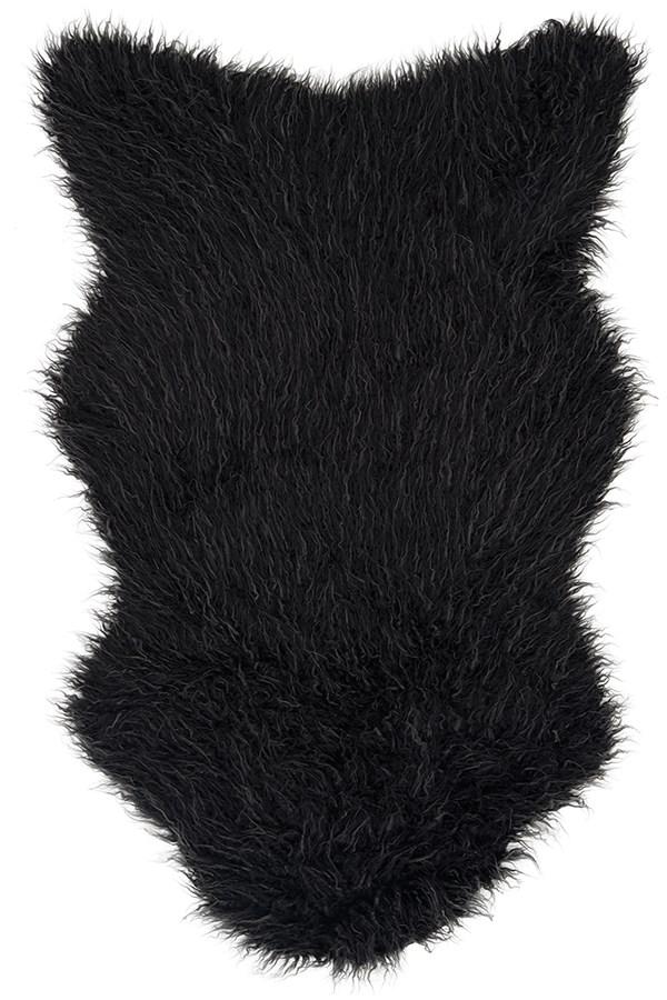 Charcoal, Grey Animals / Animal Skins Area Rug