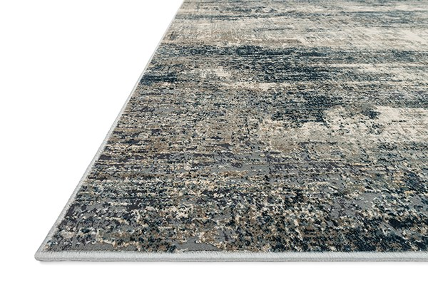 Ocean, Grey Vintage / Overdyed Area Rug
