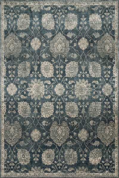 Midnight Traditional / Oriental Area Rug