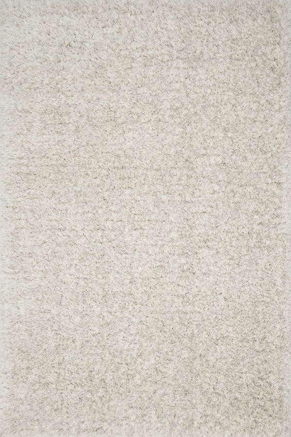 Light Grey Shag Area Rug