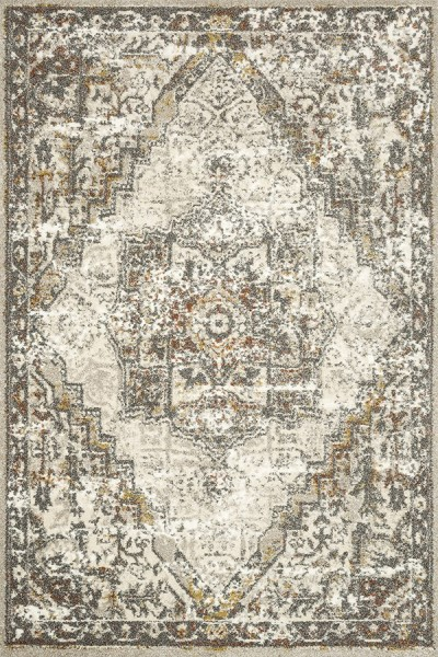Sand, Graphite Traditional / Oriental Area Rug