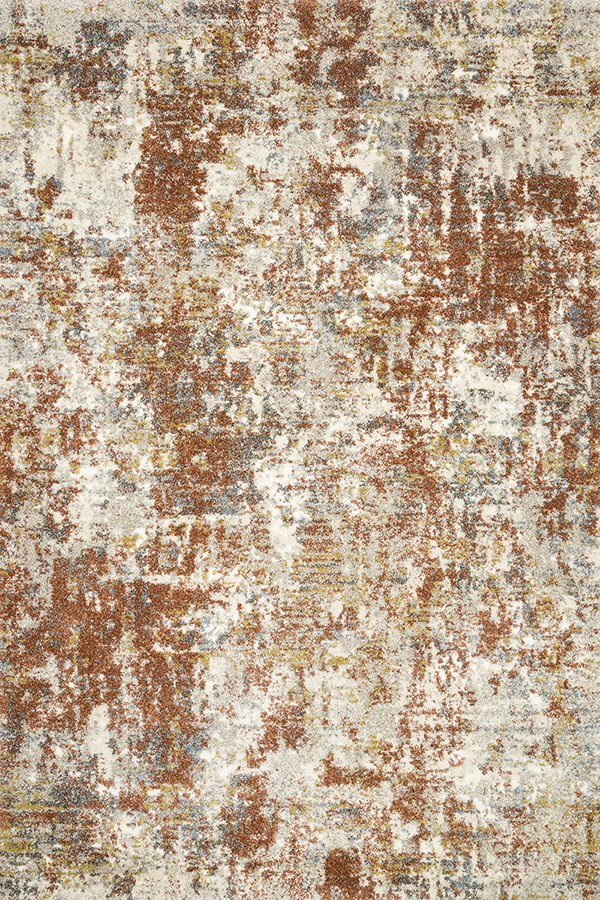 Rust Vintage / Overdyed Area Rug