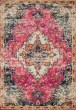 Product Image of Traditional / Oriental Pink, Midnight Area Rug