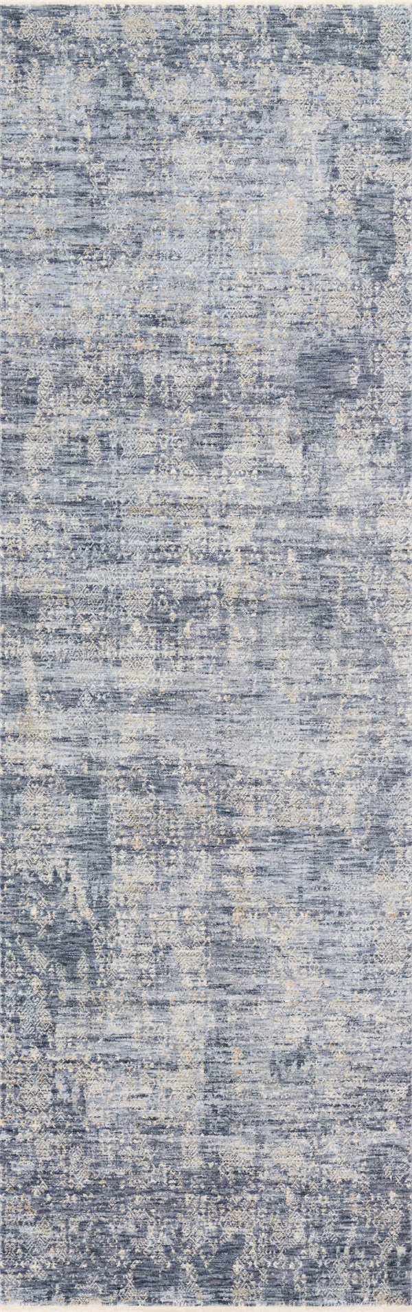 Dark Blue Vintage / Overdyed Area Rug