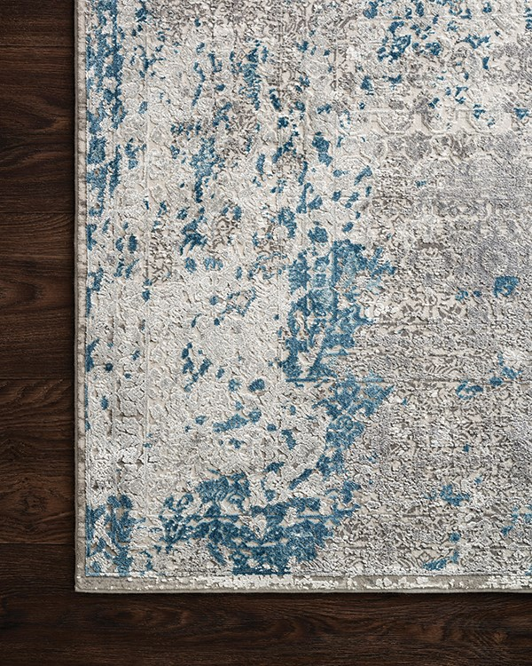 Dove, Ocean Vintage / Overdyed Area Rug