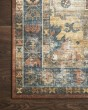 Product Image of Rust, Blue Traditional / Oriental Area Rug