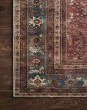 Product Image of Brick, Blue Traditional / Oriental Area Rug