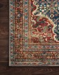 Product Image of Cobalt Blue, Spice Traditional / Oriental Area Rug