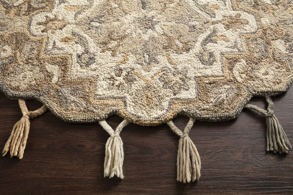 Neutral, Ivory Moroccan Area Rug