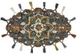Product Image of Moroccan Denim Area Rug