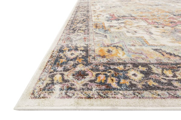 Ivory, Charcoal Transitional Area Rug