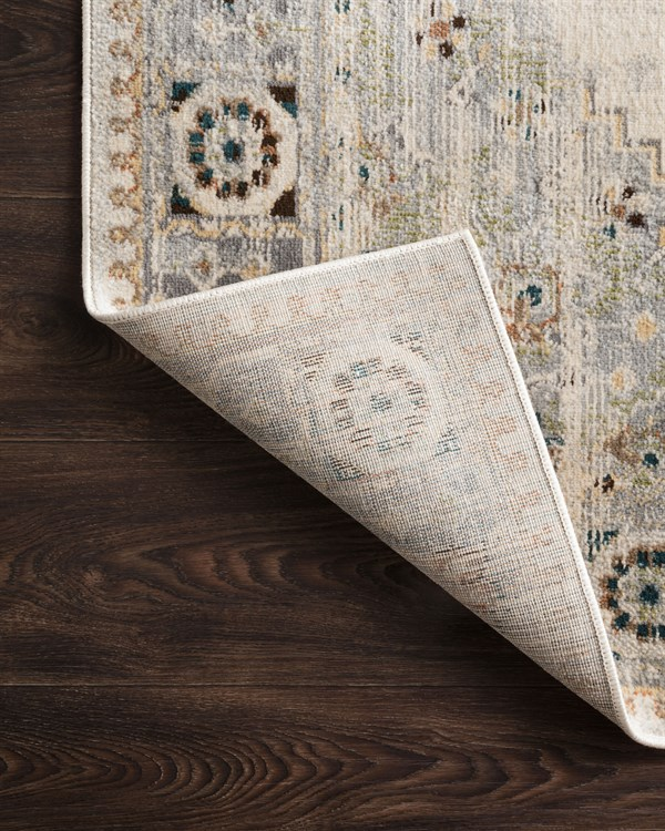 Oatmeal, Silver Transitional Area Rug