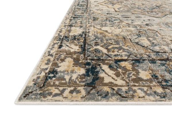 Oatmeal, Bark Transitional Area Rug