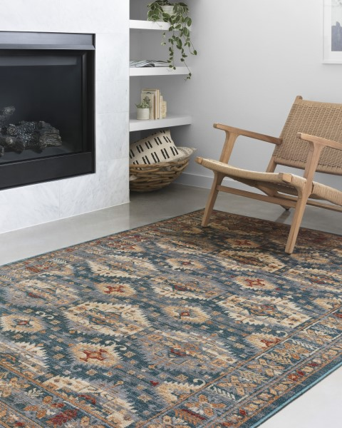 Lagoon Contemporary / Modern Area Rug