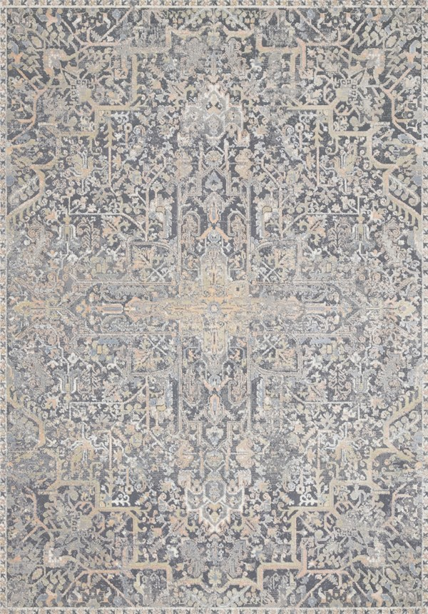 Charcoal Transitional Area Rug
