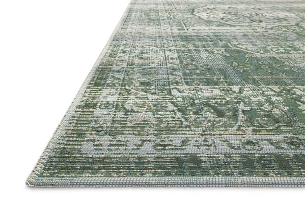 Green, Mist Outdoor / Indoor Area Rug