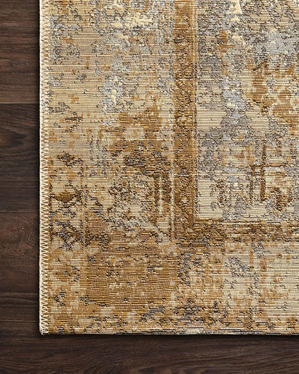 Antique Ivory, Copper Outdoor / Indoor Area Rug