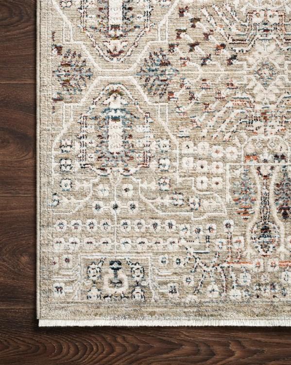 Granite, Ivory Traditional / Oriental Area Rug