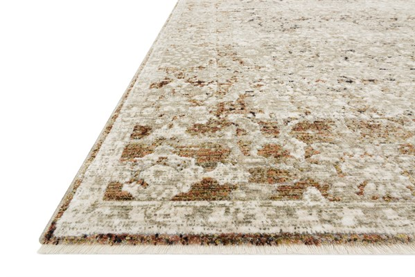 Natural, Rust Traditional / Oriental Area Rug