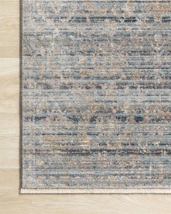 Ocean, Gold Vintage / Overdyed Area Rug