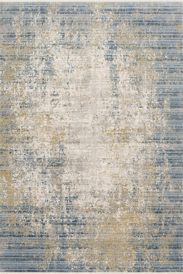 Neutral, Sea Abstract Area Rug