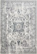 Product Image of Traditional / Oriental Cream, Grey, Blue Area Rug
