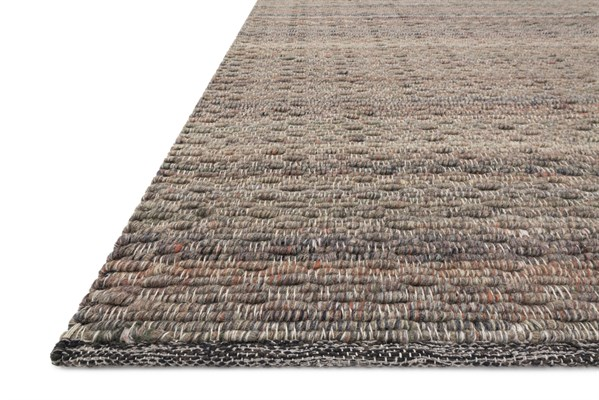 Brown Textured Solid Area Rug
