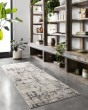 Product Image of Silver, Graphite Abstract Area Rug