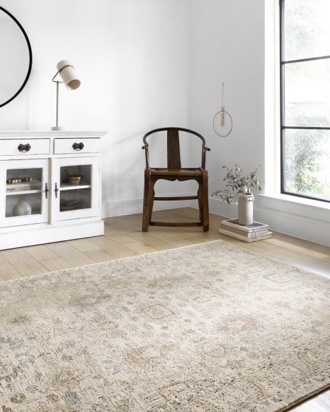 Ivory, Sand Transitional Area Rug