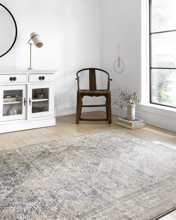 Sky, Natural Transitional Area Rug